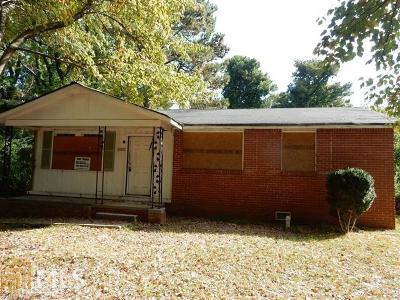 Fulton County Single Family Home For Sale: 3428 Ruby H Harper Blvd