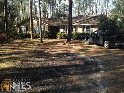 Statesboro Single Family Home For Sale: 300 Wendwood Dr