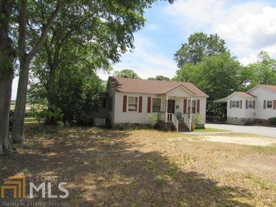 Elberton GA Single Family Home For Sale: $47,600