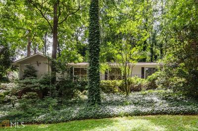 Single Family Home For Sale: 846 Thackston Dr