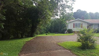 Marietta Single Family Home For Sale: 2490 Burnt Hickory Rd