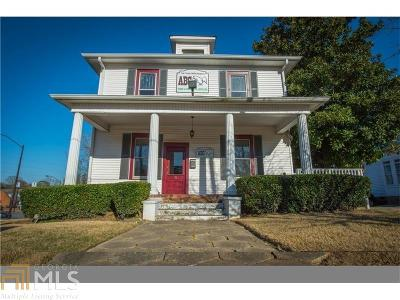 Historic Marietta Single Family Home For Sale: 268 Church St