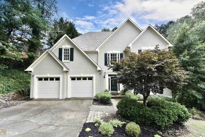 Fulton County Single Family Home For Sale: 12045 Wildwood Springs Dr