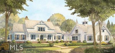 Alpharetta, Milton, Roswell Single Family Home For Sale: 615 Hickory Flat Rd
