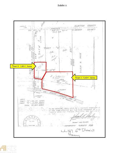Hampton Commercial For Sale: Ga Hwy 3