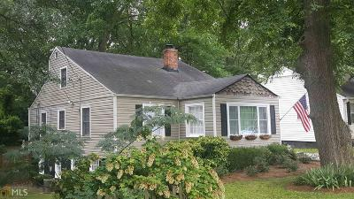 Fulton County Single Family Home Back On Market: 1586 Temple