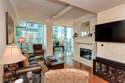 Fulton County Condo/Townhouse For Sale: 923 Peachtree St #826