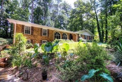 Stone Mountain Single Family Home For Sale: 5428 Pheasant Run