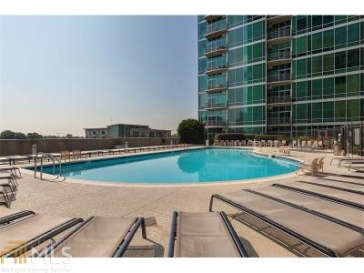 Metropolis Condo/Townhouse For Sale: 943 Peachtree St #807