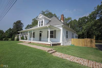 Social Circle Single Family Home For Sale: 887 S Cherokee Rd