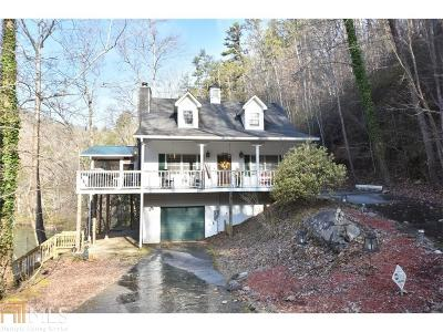 Lumpkin County Single Family Home Under Contract: 407 Whitewater Ln