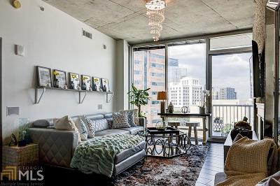 Plaza Midtown Condo/Townhouse For Sale: 950 W Peachtree St #1104