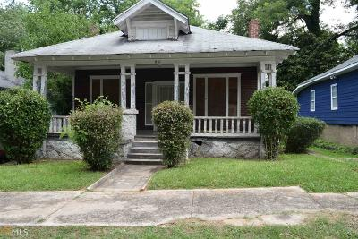 Single Family Home Under Contract: 941 Parsons St