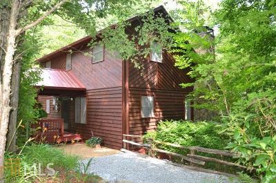Rabun County Single Family Home For Sale: 697 Moses Rd