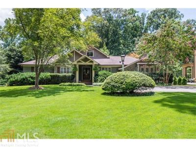 Buckhead Single Family Home For Sale: 1430 Moores Mill Rd