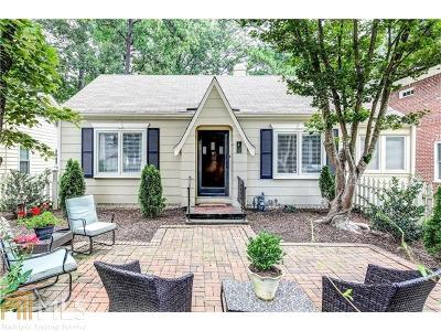 Peachtree Hills Single Family Home For Sale: 2331 Shenandoah Ave