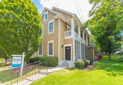 Old Fourth Ward Condo/Townhouse For Sale: 601 Irwin