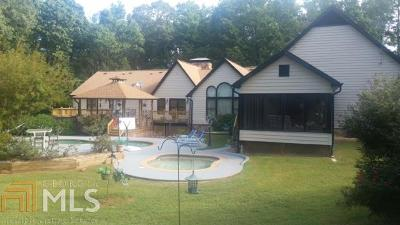 Dacula Single Family Home For Sale: 3355 Old Peachtree Rd