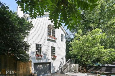 Virginia Highland Single Family Home For Sale: 1024 Greenwood Ave
