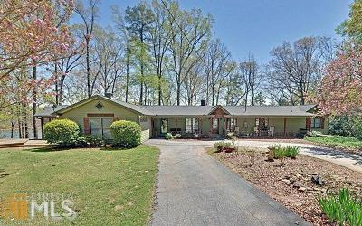 Hartwell Single Family Home For Sale: 1352 Chandlers Ferry Rd