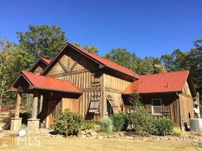Helen Single Family Home For Sale: 3526 Tray Mountain Rd