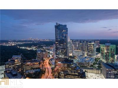 Sovereign Condo/Townhouse For Sale: 3344 Peachtree Rd #3405