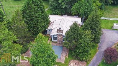 Clarkesville Single Family Home For Sale: 478 Bill Barrs Rd