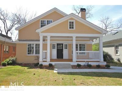 Decatur Single Family Home For Sale: 197 Feld Ave