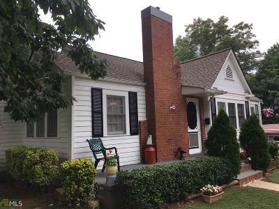 Cornelia Single Family Home For Sale: 523 Banks St