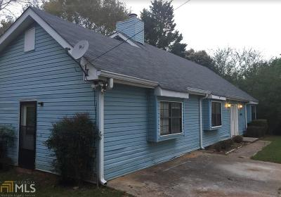 Conyers Single Family Home For Sale: 4951 Hull Rd