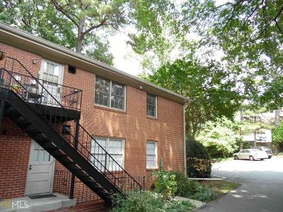 Peachtree Hills Condo/Townhouse For Sale: 425 Lindbergh Dr #C3