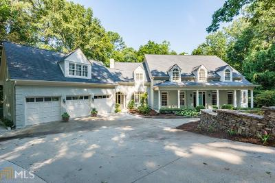 Roswell, Sandy Springs Single Family Home For Sale: 180 Burdette Rd