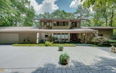 Roswell Single Family Home For Sale: 1255 Cold Harbor Dr