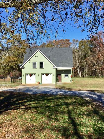 Elbert County, Franklin County, Hart County Single Family Home For Sale: 580 Grady School Rd
