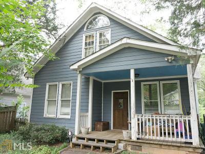 Reynoldstown Single Family Home For Sale: 1042 Kirkwood #75