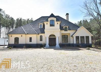 Buford Single Family Home For Sale: 2852 Thompson Mill Rd
