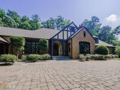 Roswell, Sandy Springs Single Family Home For Sale: 5595 Cross Gate Dr