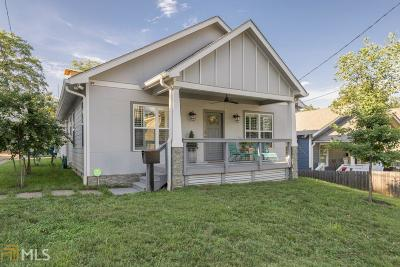 Old Fourth Ward Single Family Home For Sale: 492 Rankin St