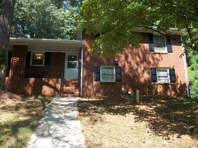 Clayton County Single Family Home For Sale: 7015 Knollwood Dr