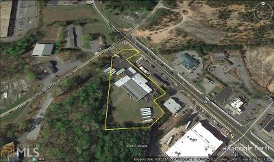 Dawsonville Commercial For Sale: 33 Lumpkin Campground Rd
