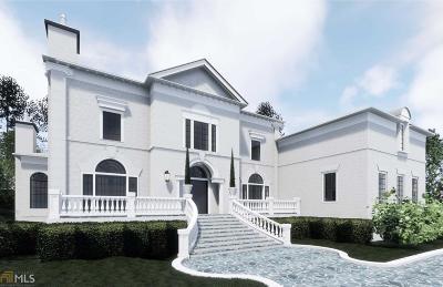 Alpharetta, Alpharetta Johns Creek Single Family Home For Sale: 600 Brisbaine Mnr