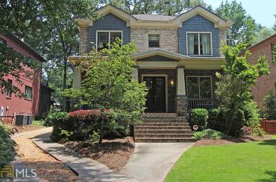 Atlanta Single Family Home New: 80 Hudson Pl