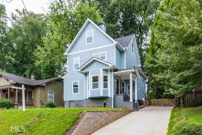 Dekalb County Single Family Home For Sale: 2295 Sutton St