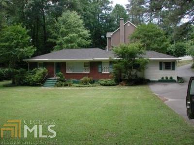 Dekalb County Single Family Home For Sale: 2916 Ashford Rd
