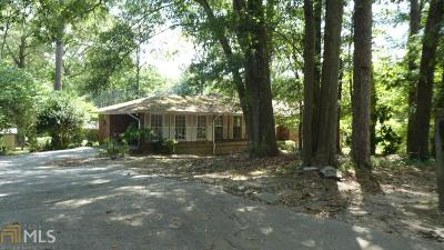 Fulton County Single Family Home For Sale: 260 Harris Manor Dr