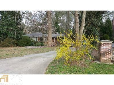 Atlanta Single Family Home For Sale: 258 Pineland Rd