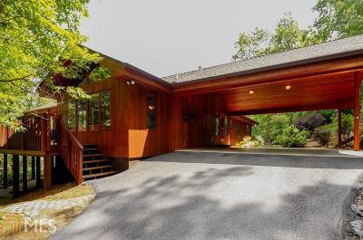 Rabun County Single Family Home Under Contract: 9406 Bridge Creek Rd