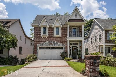 Brookhaven Single Family Home For Sale: 2352 Colonial Dr