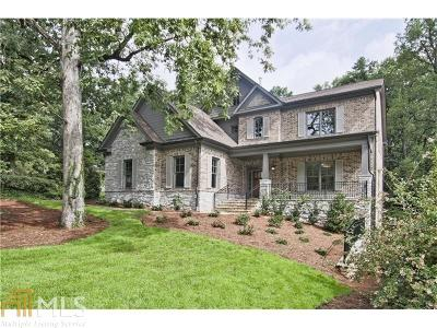 Buckhead Single Family Home New: 738 Burke Rd