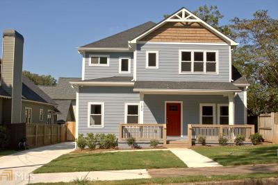 Atlanta Single Family Home New: 180 Murray Hill Ave